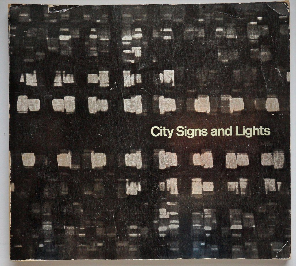 Book cover: City Signs and Lights